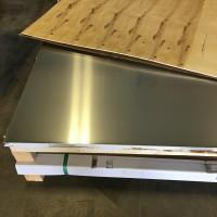 Plaques d'acier ou d'aluminium (lisse)