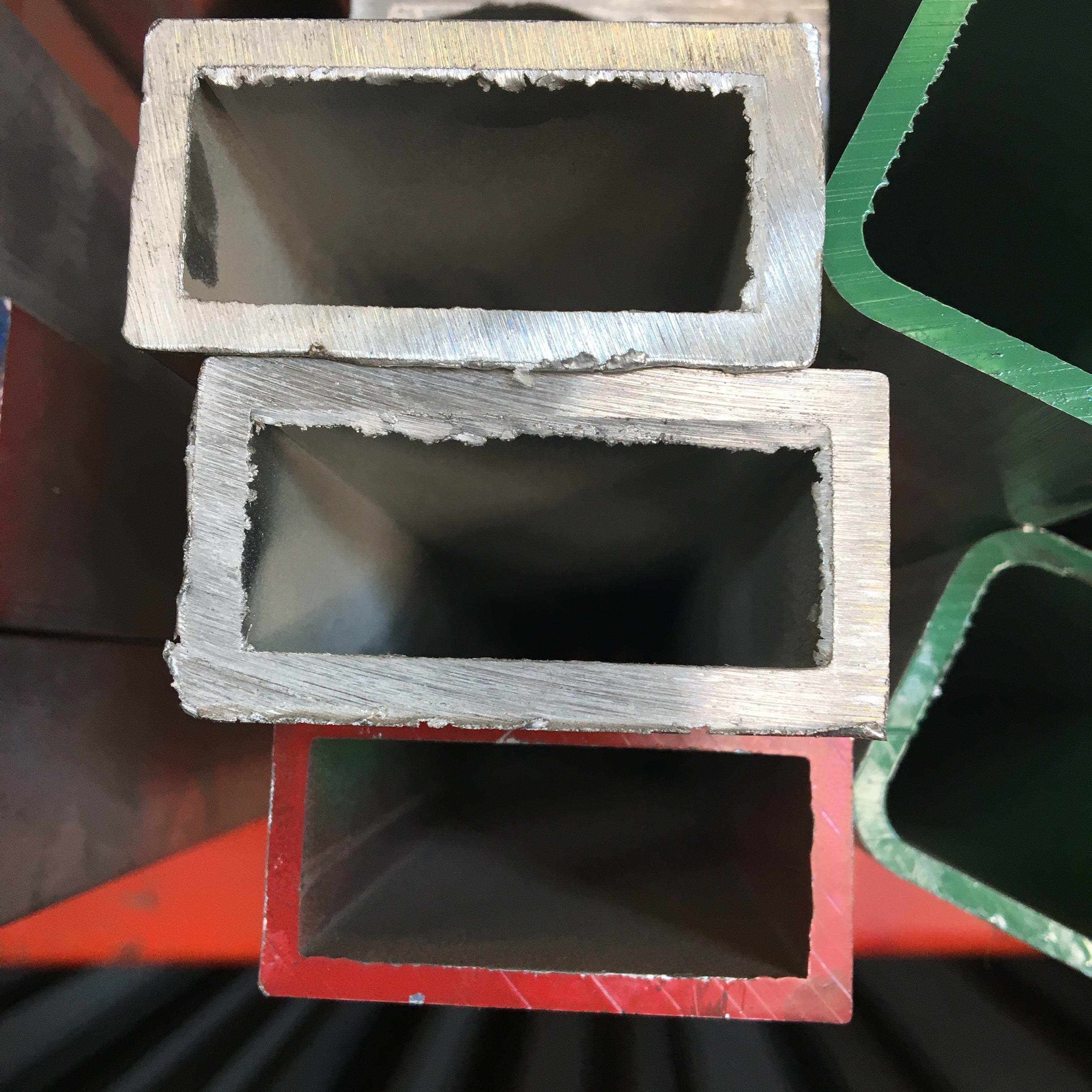 Tube rectangle aluminium